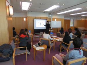 安斎勇樹先生(東京大学大学院情報学環)による 学習環境デザイン論の講義