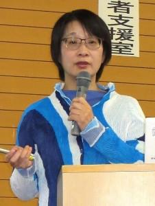 写真:牟田講師 講演の様子